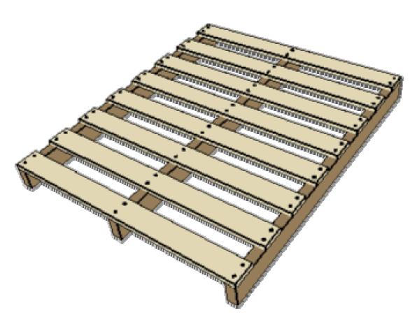 Hervorragend Fabricant de palettes de bois - palettes de manutention HM75